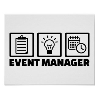 Event manager poster