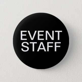 Event Staff 2 Inch Round Button