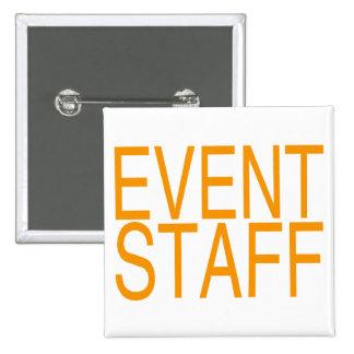 Event Staff 2 Inch Square Button