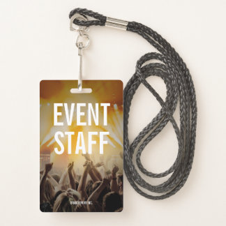 Event Staff Badge