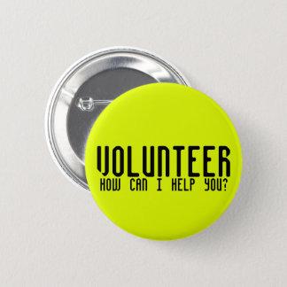 Event Volunteer 2 Inch Round Button