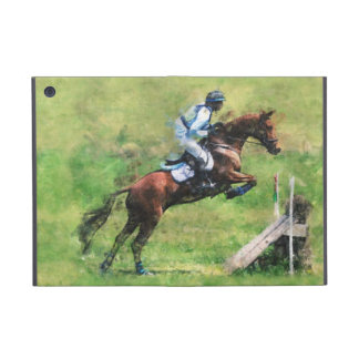 Eventer jumping a fence case for iPad mini