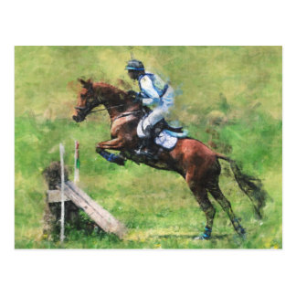 Eventer postcard