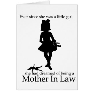 Ever since she was a little girl card