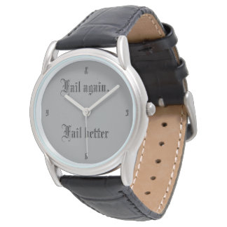 Ever tried Ever Failed customizable with Initials Watch