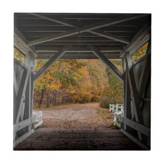 Everatt Road Covered Bridge Ceramic Tiles