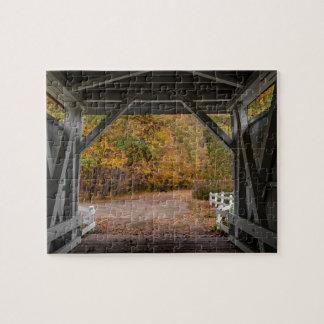 Everatt Road Covered Bridge Puzzles