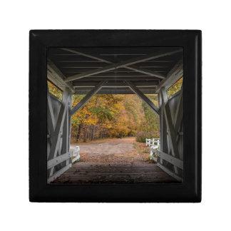 Everatt Road Covered Bridge Trinket Boxes