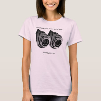Everbody loves twins...  Turbo  - Ladies Strap Top
