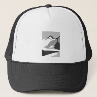 Everest - black trucker hat