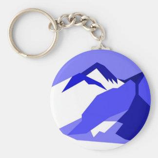 Everest - blue keychain