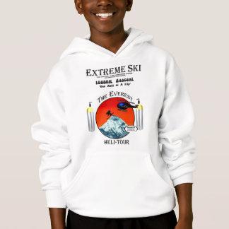 Everest Extreme ski skiers skiing hoodie