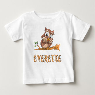 Everette Owl Baby T-Shirt