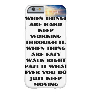 Everett's 1rst ever phone case! barely there iPhone 6 case