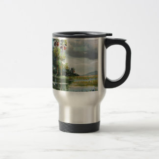 Everglades Art Travel Mug