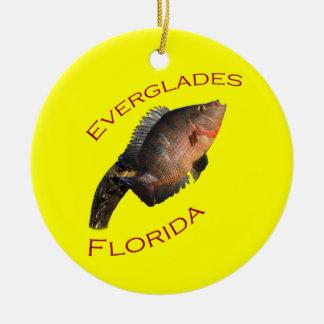 Everglades Ceramic Ornament