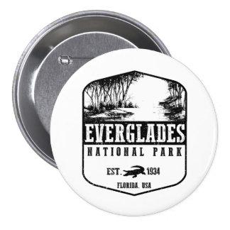 Everglades National Park 3 Inch Round Button