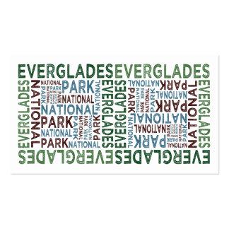 Everglades National Park Business Card