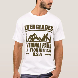 EVERGLADES NATIONAL PARK FLORIDA USA EST 1934 T-Shirt