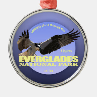 Everglades NP (Osprey) WT Metal Ornament