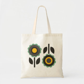 Evergreen Aster Tote Bag