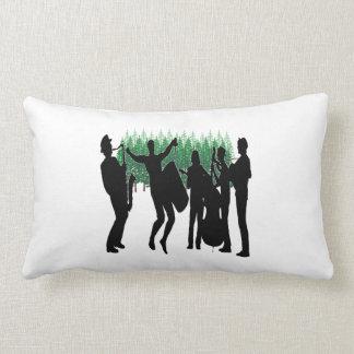 Evergreen Blues Lumbar Pillow