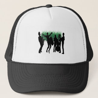 Evergreen Blues Trucker Hat