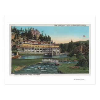 Evergreen, CO - Troutdale Hotel, Bear Creek Postcard