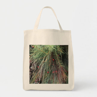 Evergreen Green Grocery Tote