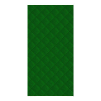 Evergreen Green Quilt Pattern Picture Card