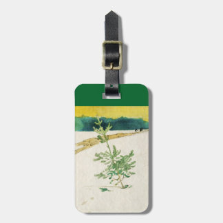 Evergreen in Snow Luggage Tag