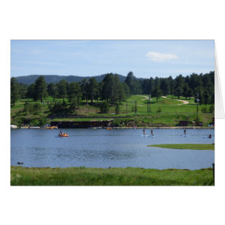 Evergreen Lake Paddle Boarders Card
