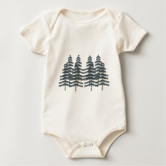Evergreen Pleasures Baby Bodysuit