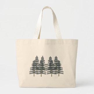 Evergreen Pleasures Large Tote Bag