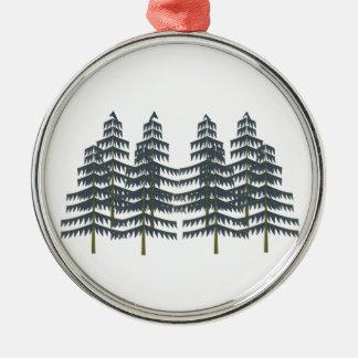 Evergreen Pleasures Metal Ornament