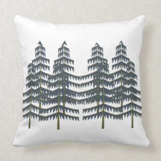 Evergreen Pleasures Throw Pillow