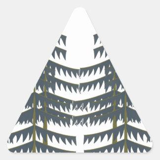 Evergreen Pleasures Triangle Sticker