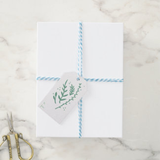 Evergreen Stems Gift Tags