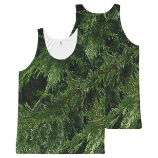 Evergreen Tree - Cypress Boughs All-Over-Print Tank Top