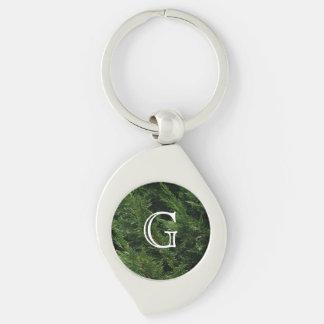 Evergreen Tree - Cypress Boughs Keychain