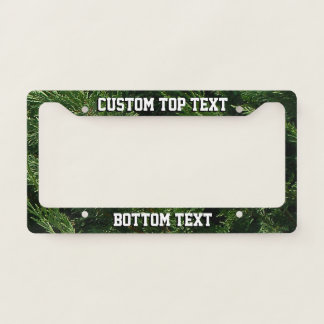 Evergreen Tree - Cypress Boughs License Plate Frame