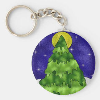 Evergreen Tree Key Chains
