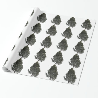 Evergreen Tree Wrapping Paper