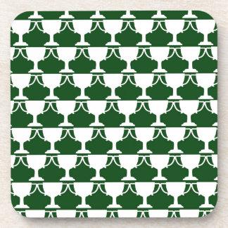Evergreen Victorian Lace Coaster
