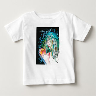 Evergreen - Watercolor Portrait Baby T-Shirt