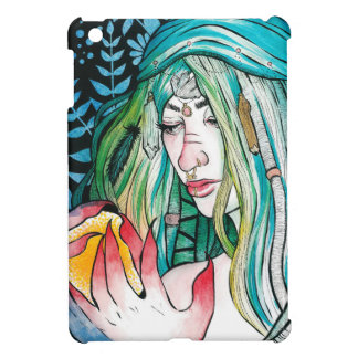 Evergreen - Watercolor Portrait iPad Mini Cases