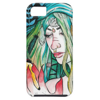 Evergreen - Watercolor Portrait iPhone 5 Case