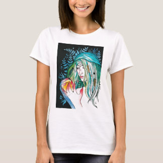Evergreen - Watercolor Portrait T-Shirt
