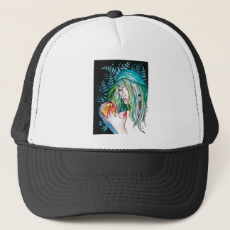 Evergreen - Watercolor Portrait Trucker Hat