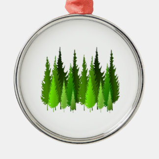 EVERGREEN WAYS METAL ORNAMENT